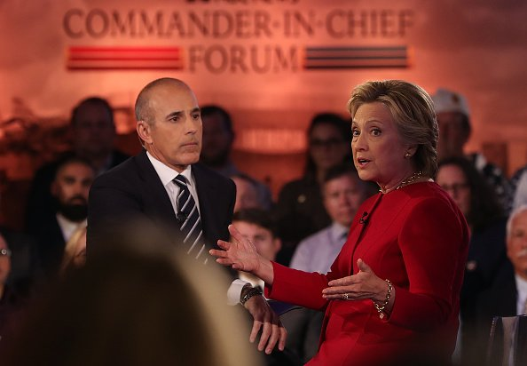 Matt Lauer questioned Hillary Clinton's judgment during sexist debate moderation