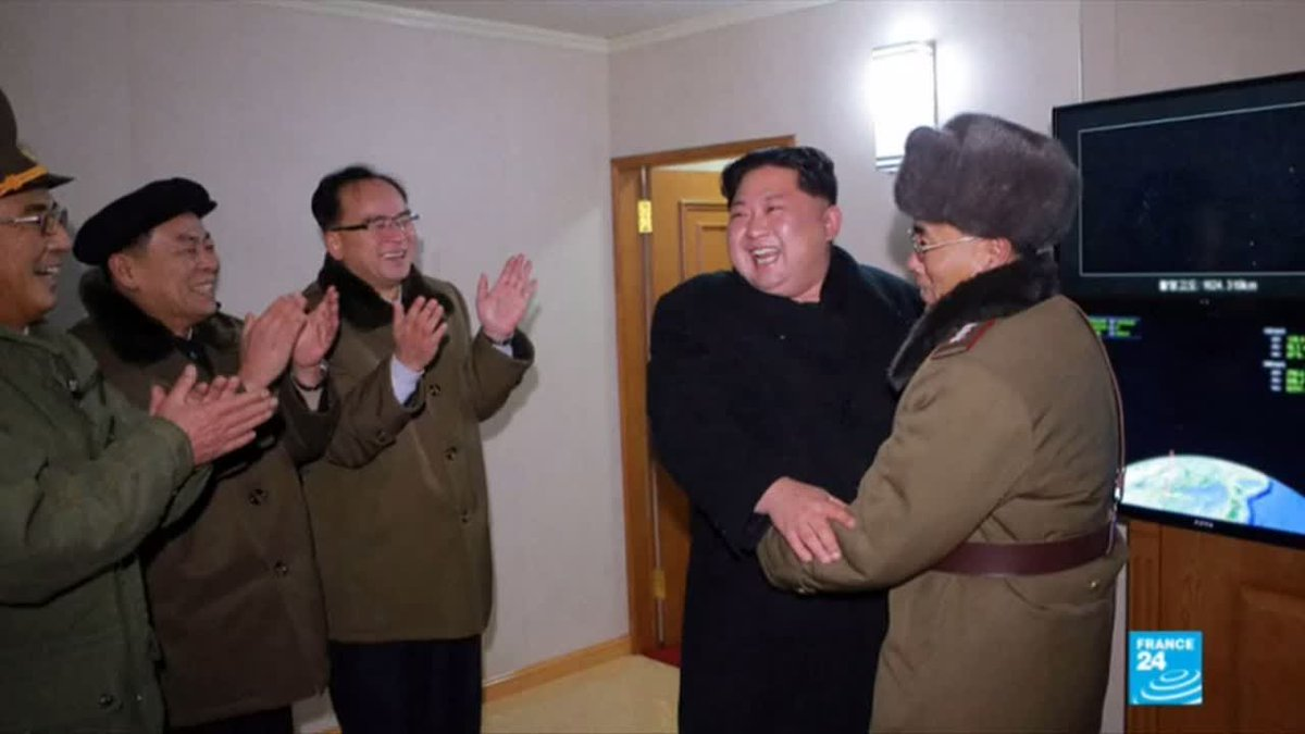 ?? North Korea: Photos show beaming leader Kim Jong-un watching latest missile launch
