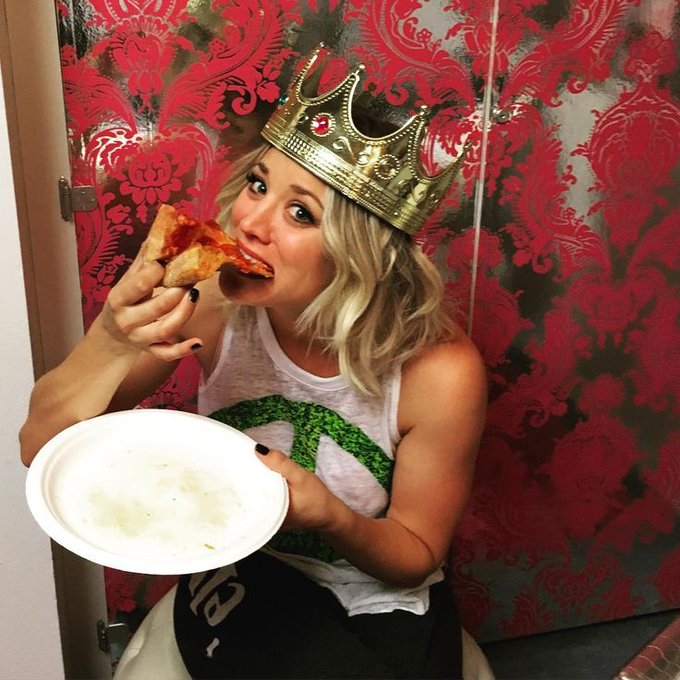 The Indiana Pizza Club wishes Kaley Cuoco a Very Happy Birthday!