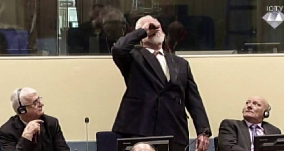 Dutch probe Bosnian war criminal's suicide in UN court