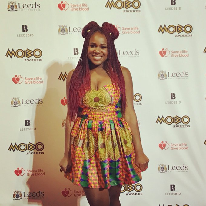 RT @thisNAO: Carpets are red @MOBOAwards 🎉 https://t.co/IYf0jG85ha