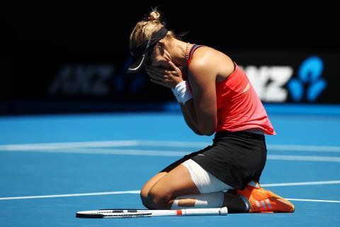 Top 5 Upsets of 2017 (No 2.)   Mirjana Lucic-Baroni's Melbourne magic vs. Pliskova---> https://t.co/WyXxLClVme https://t.co/96ZQl86th6