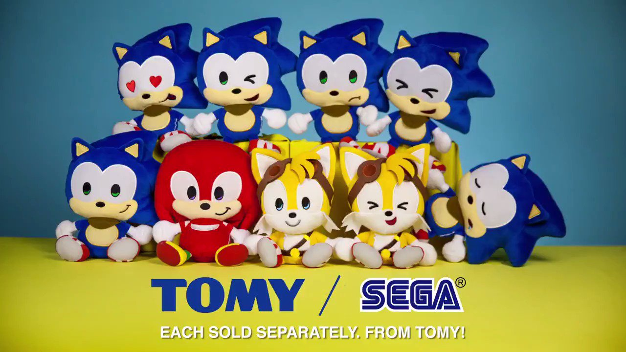 What's a normal day like when not saving the world for Team Sonic? Thanks to our friends @Tomy_Toy! https://t.co/t9gZhyZzRA