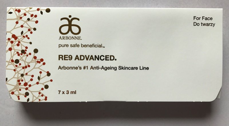 Arbonne RE9 Advanced Anti-ageing Skincare Kit - Trial/Travel/Handbag Size https://t.co/yTbBczpm0s https://t.co/XajLpX25xY