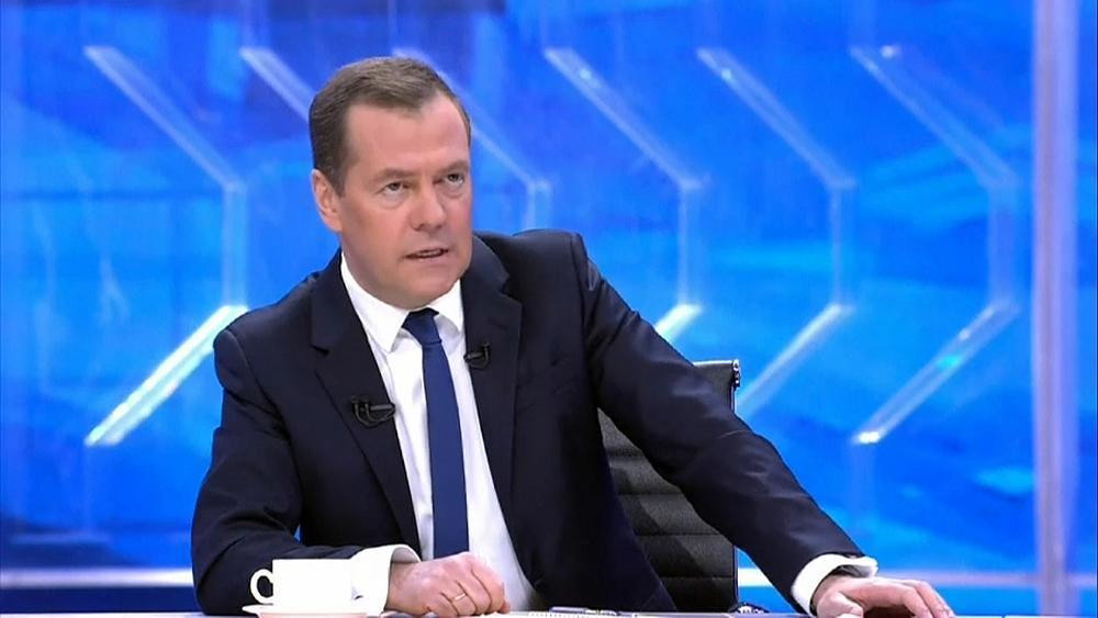 Doping allegations part of 'anti-Russian campaign' -Medvedev