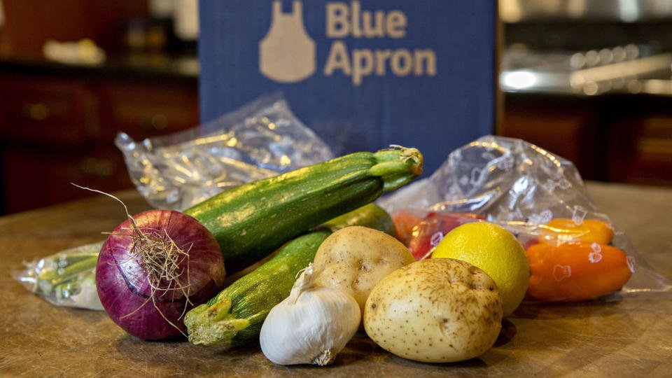 Blue Apron's CEO has stepped down