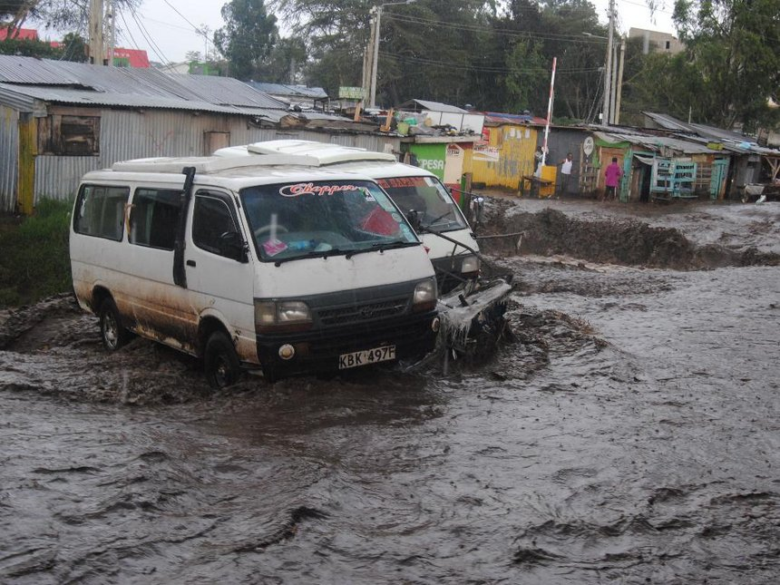 Narok traders incur Sh20m losses as floods drown stock, disrupt transport