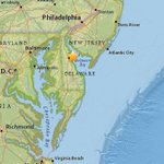 Delaware earthquake registers at 4.1; no immediate reports of damage or injury