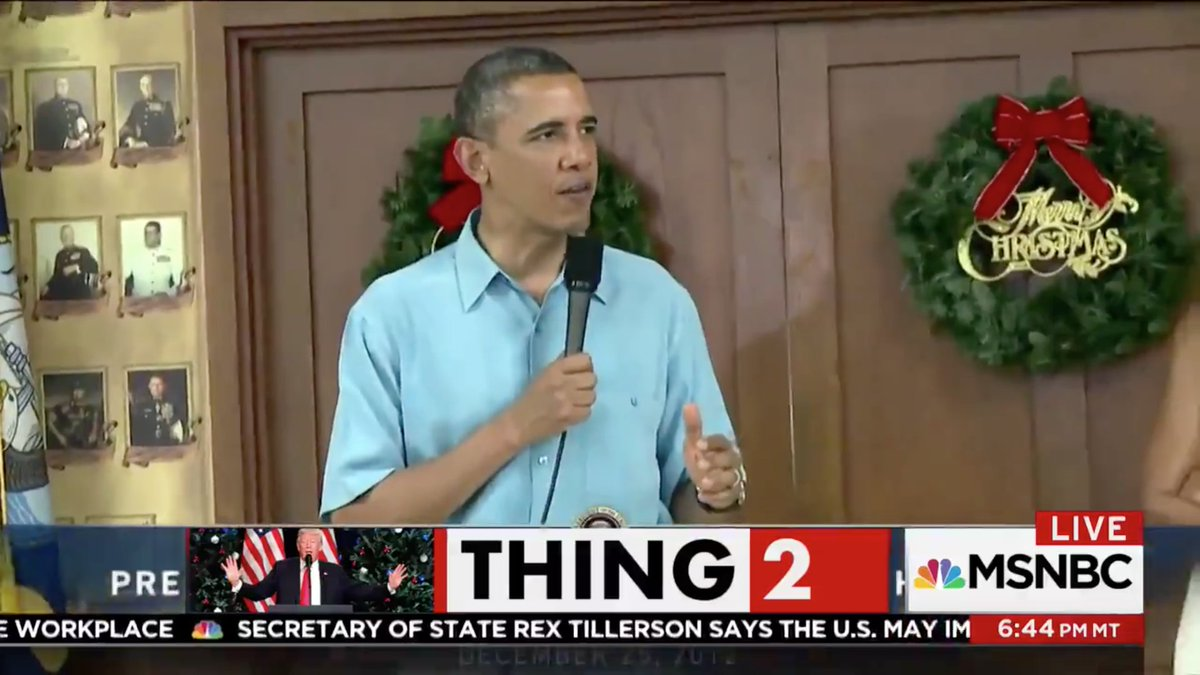 Watch: msnbc trolls trump with supercut video of obama saying \