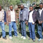 The five arrested in Narok for illegal logging