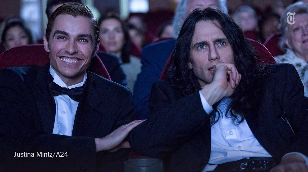 James Franco perfectly captures Tommy Wiseau's puzzling accent in 'The Disaster Artist' https://t.co/Kp362GARVW https://t.co/nOIqjSEOWl