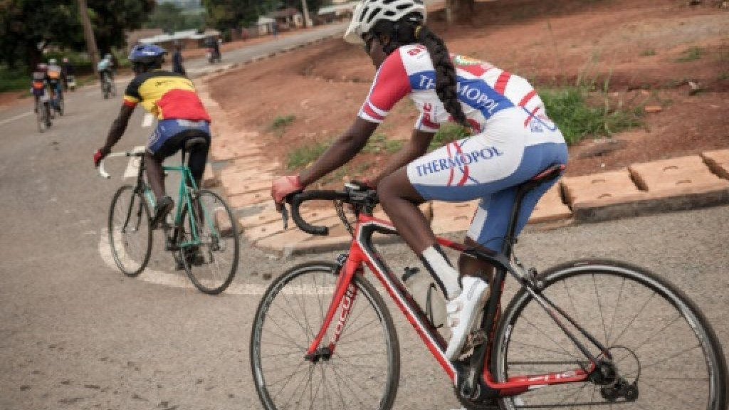 Starry-eyed C. Africa cyclists 'race to forget'