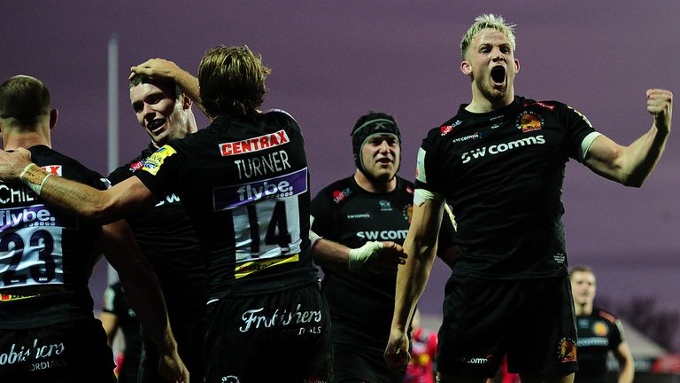 test Twitter Media - Exeter 31-17 Harlequins: Chiefs go top of Premiership with victory at Sandy Park. https://t.co/xyB7Sbd7VO https://t.co/e5LRrqkfzE