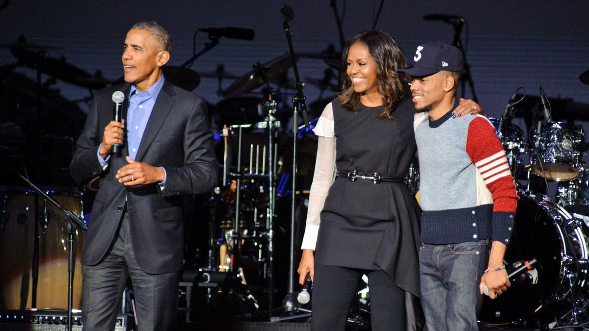 Chance The Rapper Crooned An R&B Ode To Barack Obama On SNL