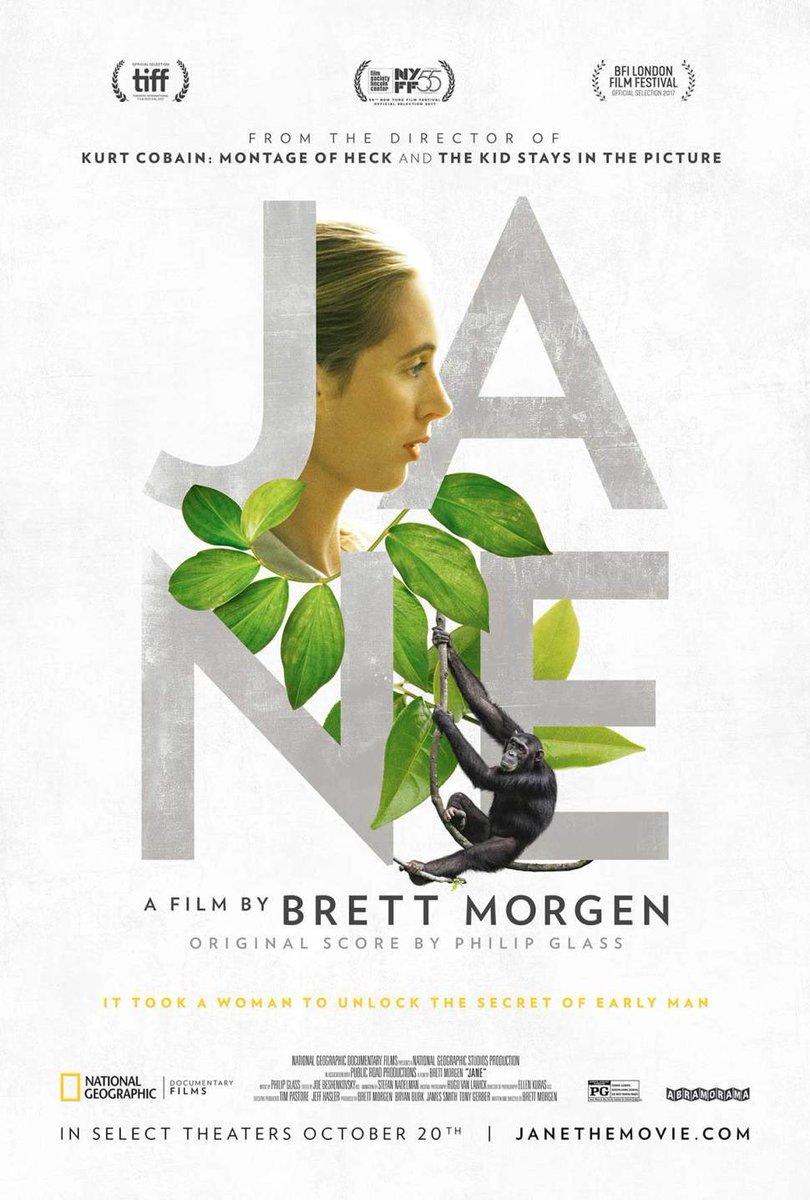 Just watch #Jane ! Feeling so inspired by @JaneGoodallInst ???????????????????????????????? https://t.co/XwplxoFBgm