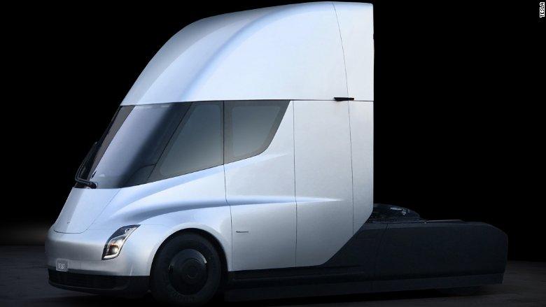 Tesla lanzó su camión eléctric tesla