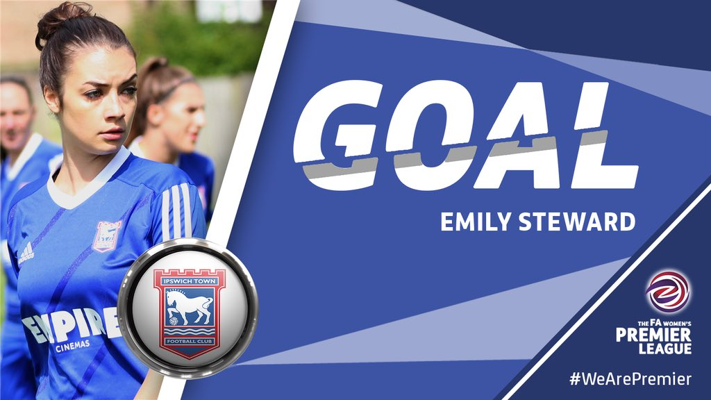 RT @IpswichTownLFC: 44: GOAL! Seventh heaven for Town! Grace Bowman sweeps home on the volley from Khadija Gbaja's corner. 7-0 #ITLFC #ITFC…