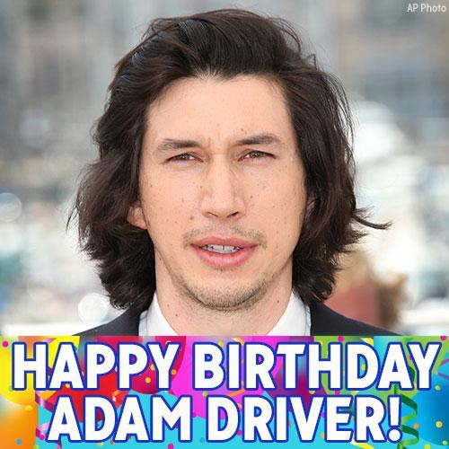 Happy Birthday to actor Adam Driver!