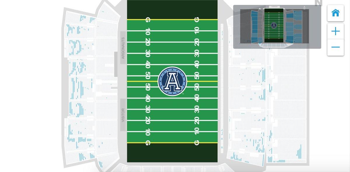 test Twitter Media - View of tickets remaining for today's #ArgosFootball/#RiderPride game @BMOField.     #CFLGameDay #CFLplayoffs #CFL https://t.co/dlRZQrjORv
