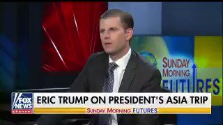 ".@EricTrump ""If we're able to repatriate all that money... think what that will do."""
