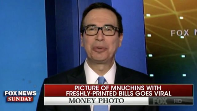 Steve Mnuchin Reacts to Being Called a 'Bond Villain' Over Viral Money Photos https://t.co/318gzCW2rm (VIDEO) https://t.co/eW4jhWxIve