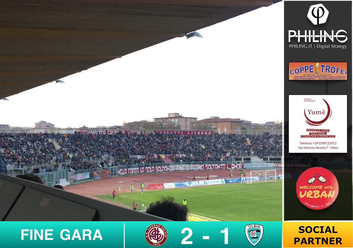 #LivornoOlbia