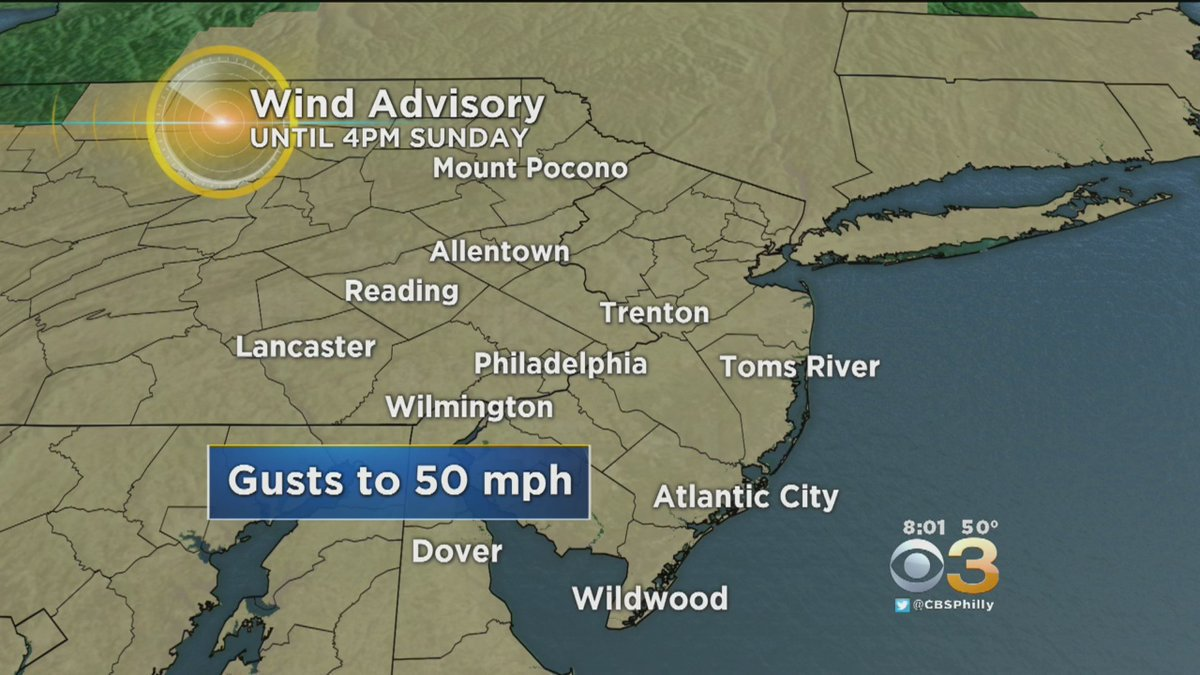 WEATHER BLOG: Heavy Winds Can Make For Hazardous Travel
