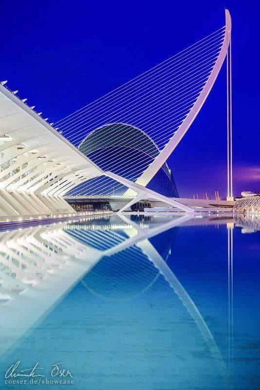 Ciudad de las Artes y las Ciencias. MARAVILLA !!!! Gustavo  Calatrava  #valencia #Espana  @ARQcomunidad https://t.co/4VqGFdWFdx