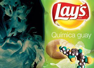 """Lay's presenta sus nuevas patatas fritas """"sabor químico guay"""""""