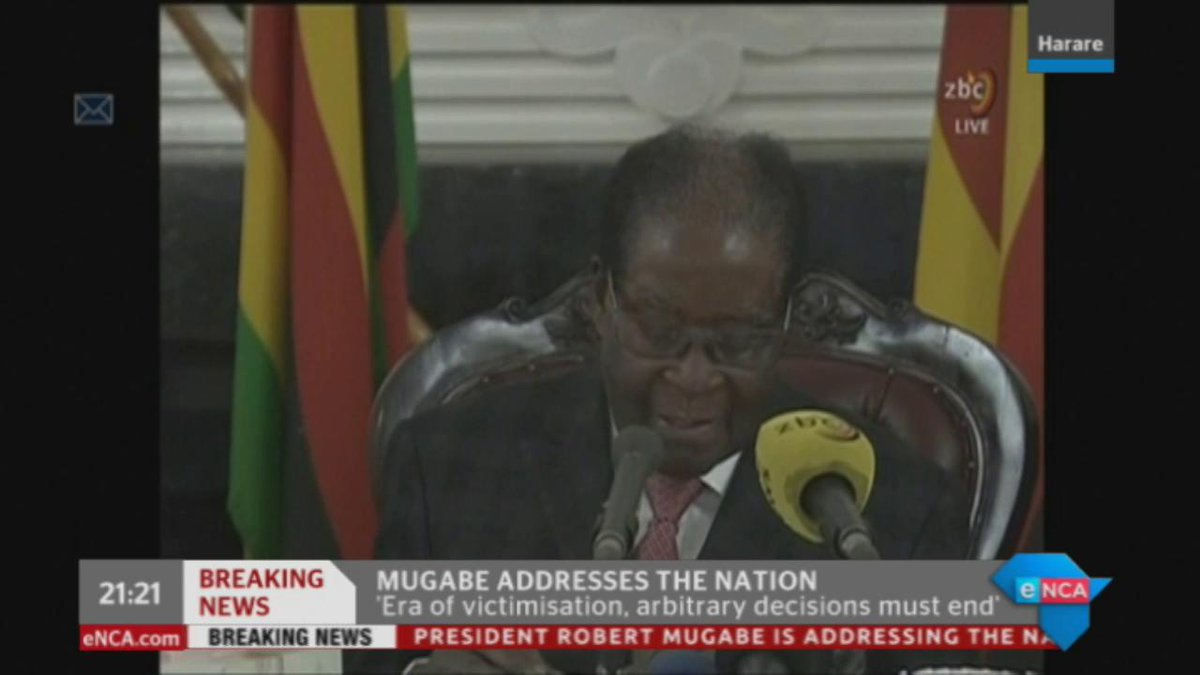 BREAKING NEWS  Robert Mugabe h dstv403
