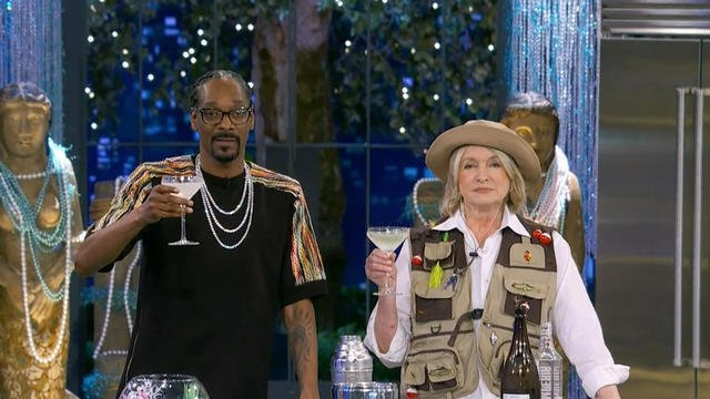 Martha Stewart and Snoop Dogg TV's oddest couple