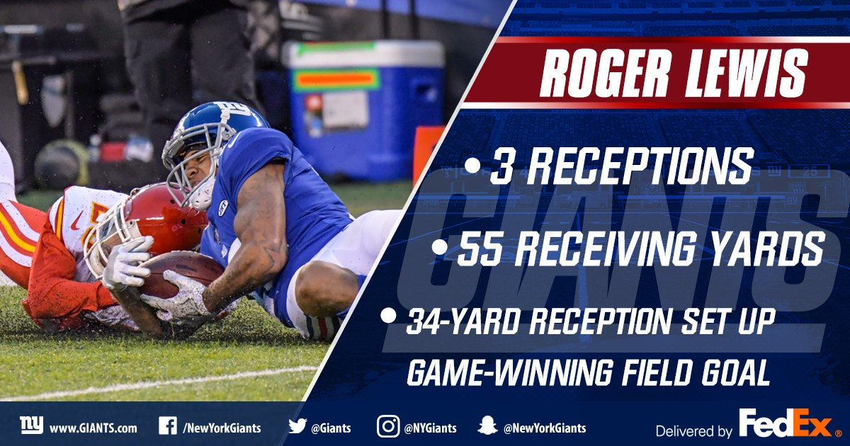 .@OttoLewis_ delivered BIG TIME in overtime today! Here's who else stood out for Big Blue in the win » https://t.co/RJTrNZlY1C @FedEx https://t.co/E9NoEdjwRs