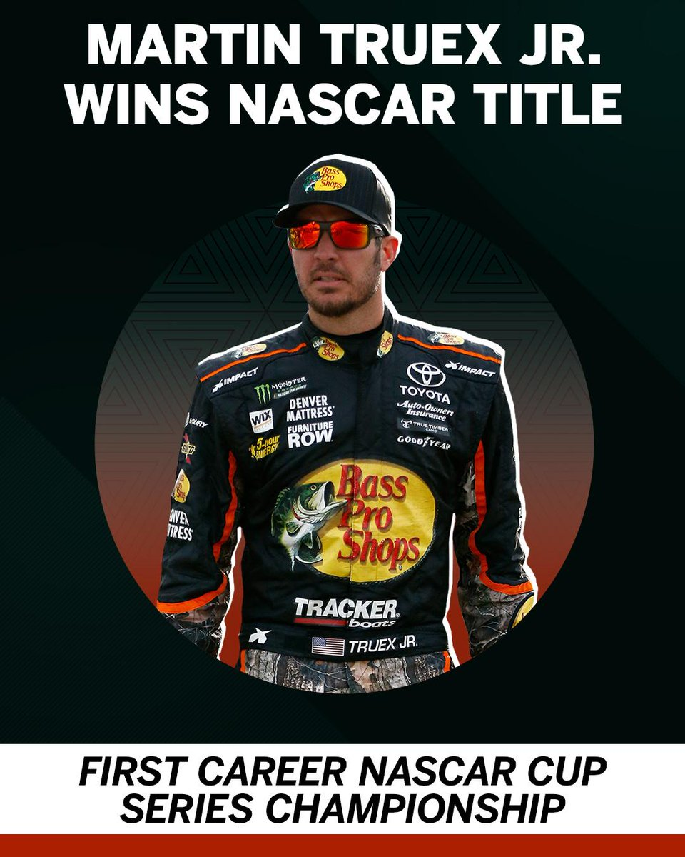 A dominant season ends in a title for Martin Truex Jr.
