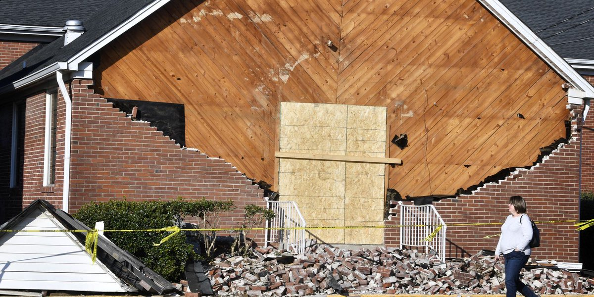 Tornadoes cause damage in Gladeville and Joelton, NWS says