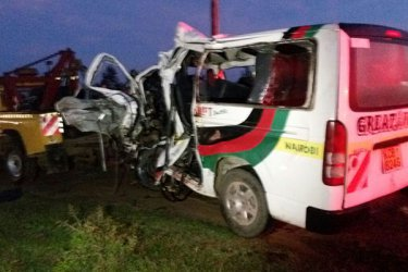 12 people perish in early morning accident at Salgaa