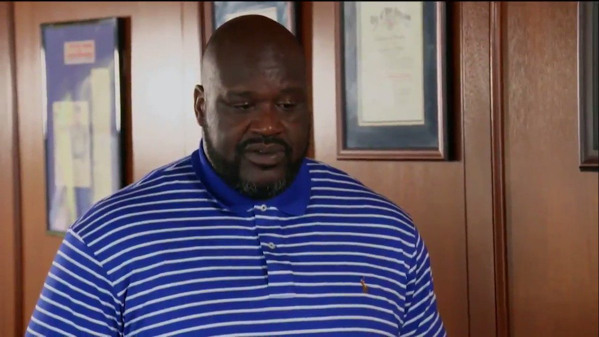 ".@SHAQ on plans after retiring ""Somewhere in America, I'm gonna run for sheriff."" #OBJECTified"