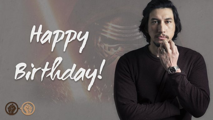 Happy Birthday, Adam Driver! The Star Wars actor turns 34 today!