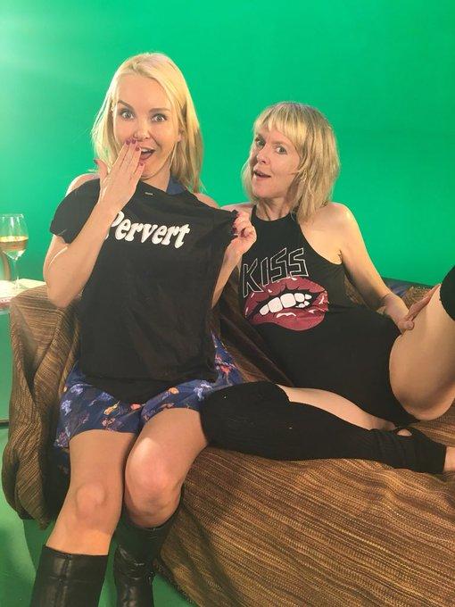 Lol last night was a blast! And thanx for the shirt @SallyMullins1 I'll wear it w pride! #hellocougar
