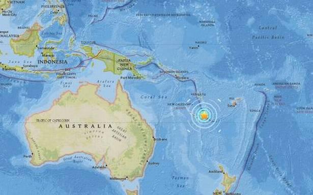 Quake strikes New Caledonia triggering tsunami in Vanuatu