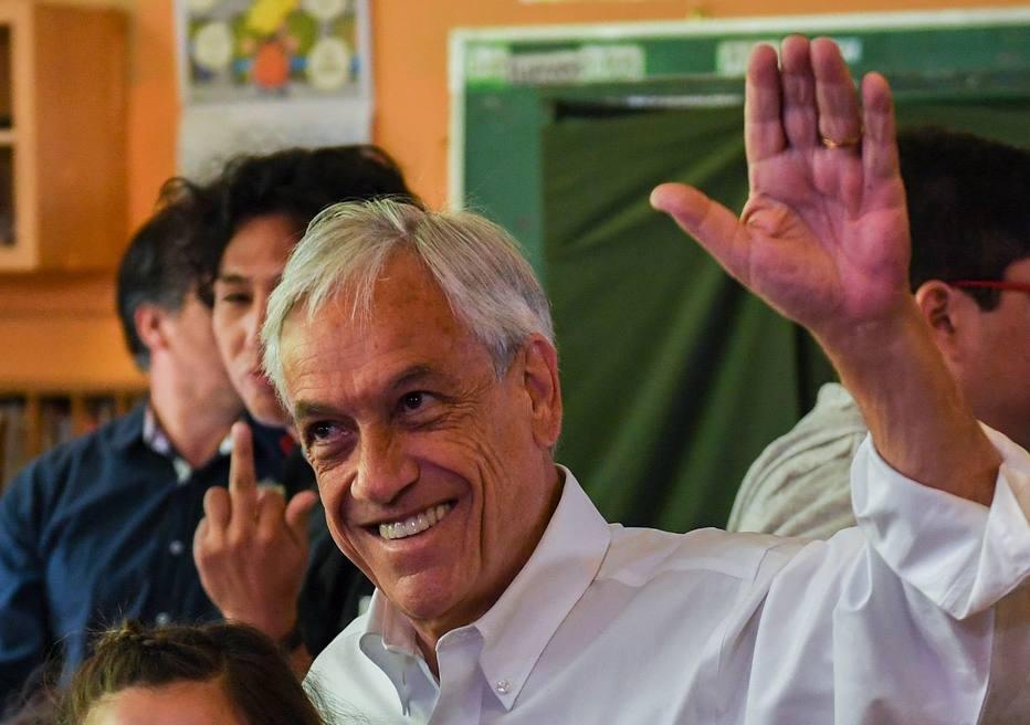 Piñera vence eleição presidencial no Chile, mas vai para 2º turno