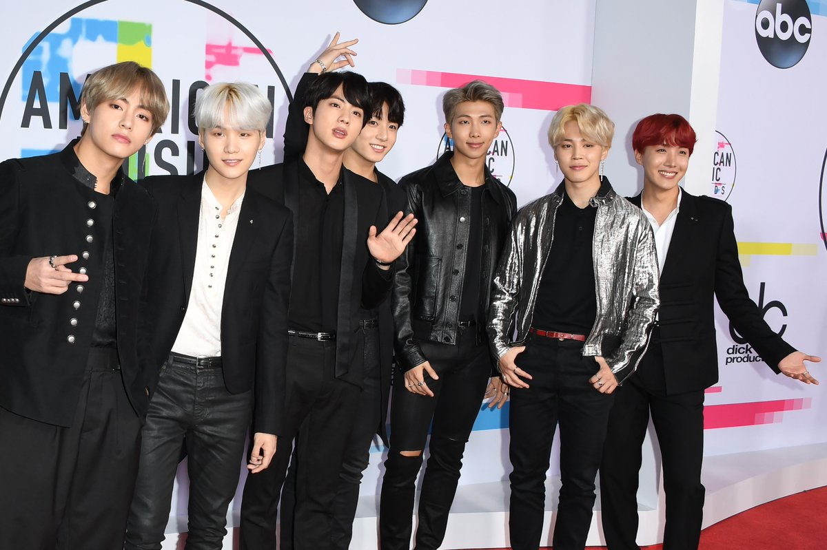 South Korean boy band BTS just absolutely slayed the #AMAs. We are done.