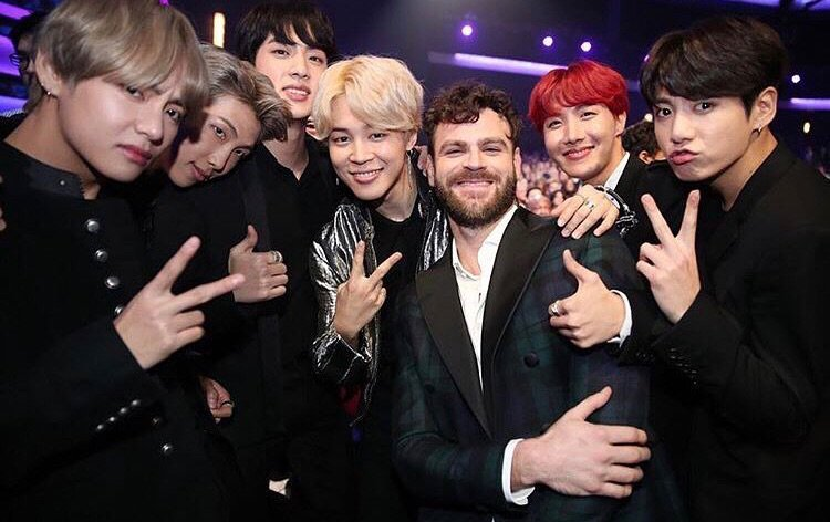 Love these guys! @BTS_twt great performance see you at the After https://t.co/R77oIFkZiU