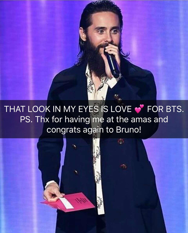 �� @BTS_twt. ���� #AMAs. Congrats @BrunoMars! https://t.co/s8wR977S6G