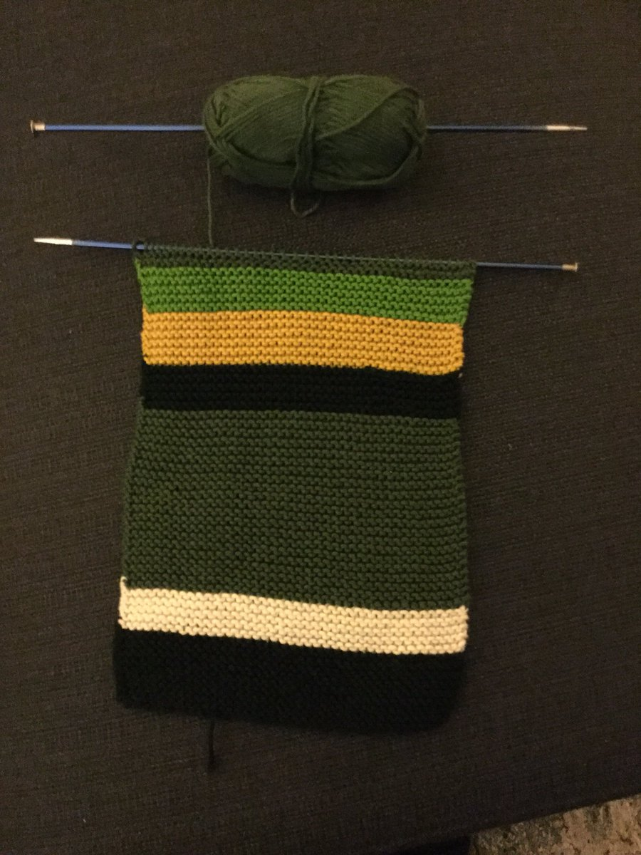 No official pattern this time, just letting the power of Begonia Pope and Tom Baker compel me. #RCTID https://t.co/F8NP7TqhSH