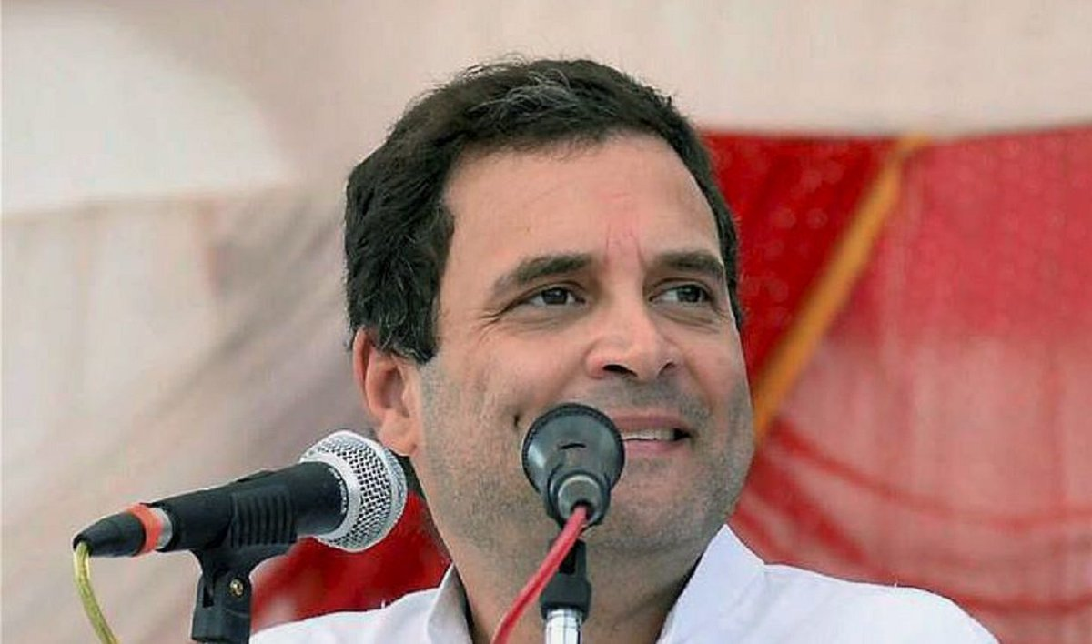 #Alert | Congress Working Committee passes resolution to make Rahul Gandhi party President ANI