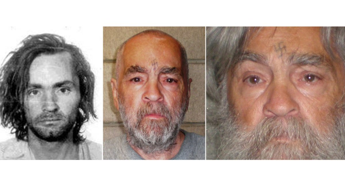 Cult leader and serial killer Charles Manson dies at age 83
