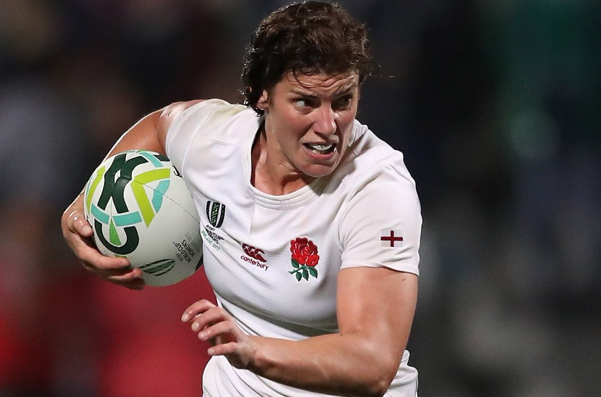 test Twitter Media - England women's captain Sarah Hunter will win her 100th cap when she leads her country against Canada on Tuesday.  Congratulations @sarah_hunter8! 🏉👏  ➡️ https://t.co/kTocHqddsi https://t.co/dSMvZX8kmo
