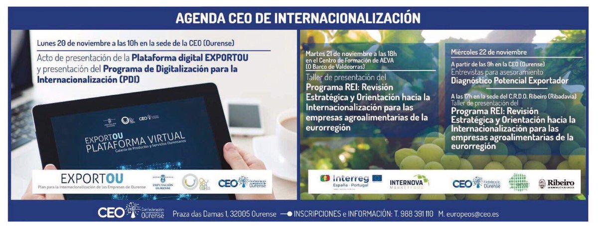 RT @DeputacionOU: 💻 https://t.co/XyKcpv4SlA plataforma digital #ExportOU de @DeputacionOU y  @CEO_Ourense https://t.co/5KbzHqNnif