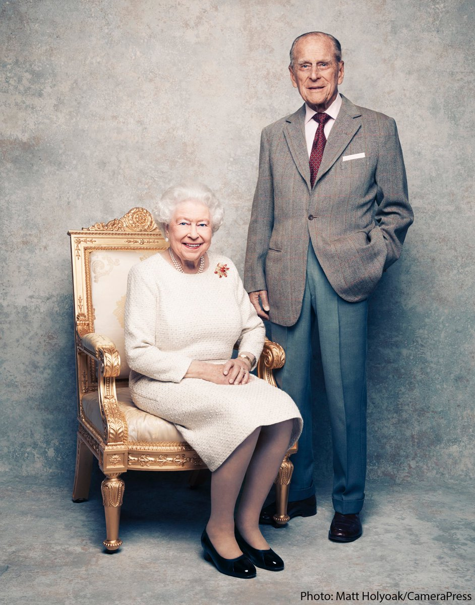 To celebrate the 70th Wedding  duke