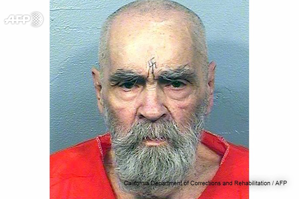 Le gourou criminel américain Charles Manson meurt à 83 ans #AFP